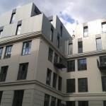 Bécs - Hornbostelgasse, Társasház